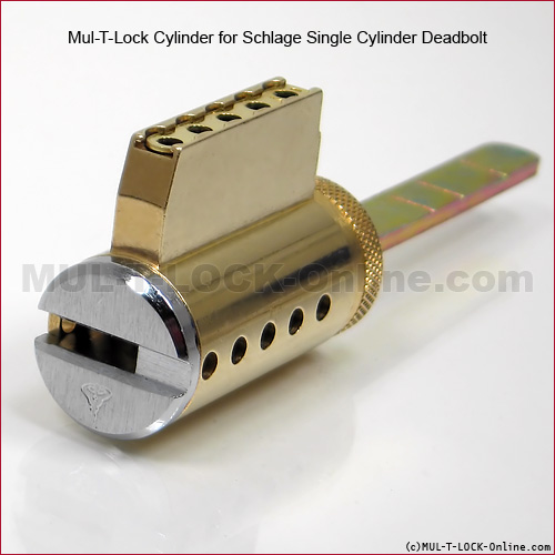 Mul T Lock Interactive Cylinder For Schlage Arrow