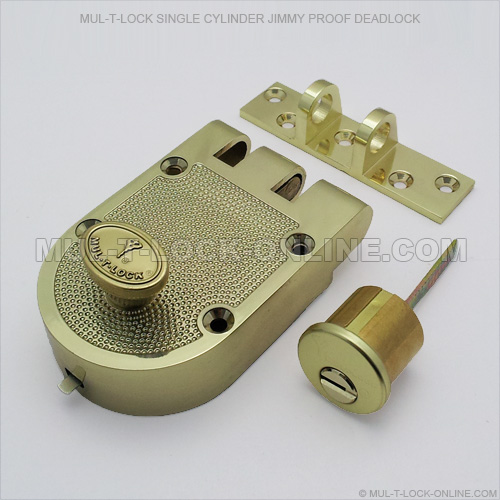 Mul T Lock Single Cylinder Jimmyproof Deadlock Online Store