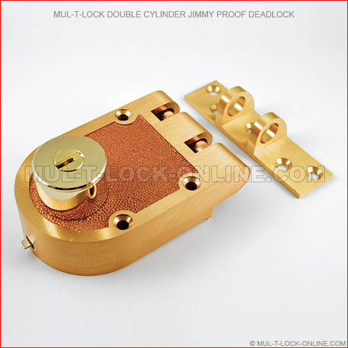Mul T Lock Double Cylinder Jimmyproof Deadlock Online Store