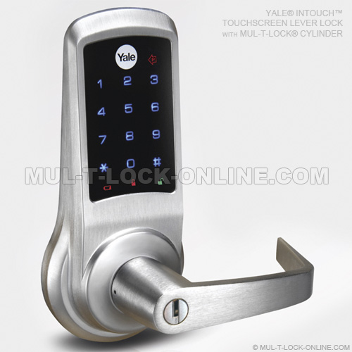 Mul T Lock Online 187 Yale Intouch Touchscreen Lever Lock