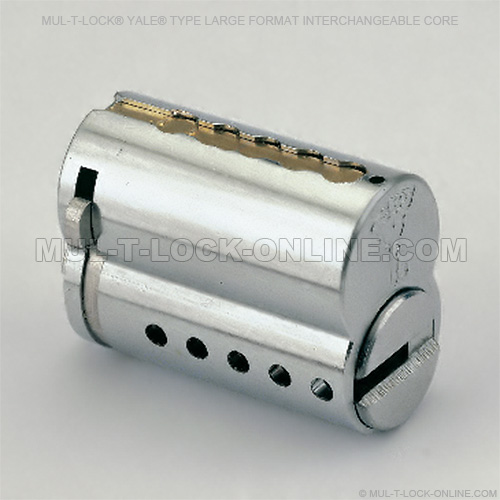 Mul T Lock Yale Type 6 Pin Large Format Interchangeable