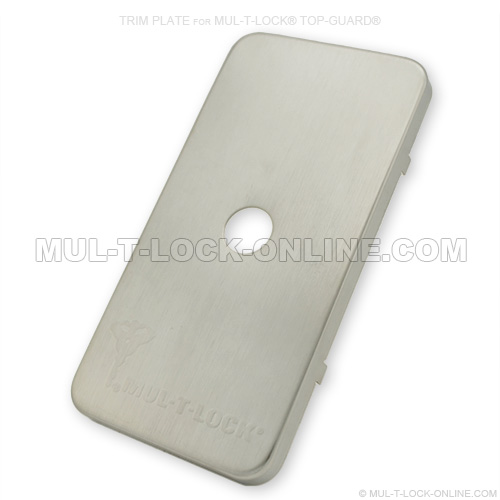 Mul T Lock Online Trim Plate For Mul T Lock Top Guard
