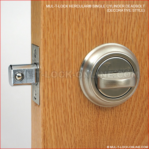 Mul T Lock Online Mul T Lock Mt5 Hercular Deadbolt Decorative