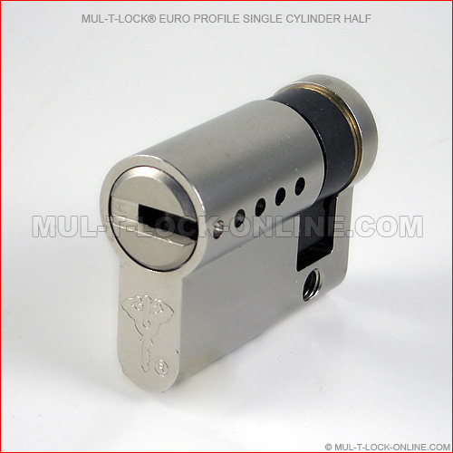 Mul T Lock Euro Profile Single Cylinder Half Online Store