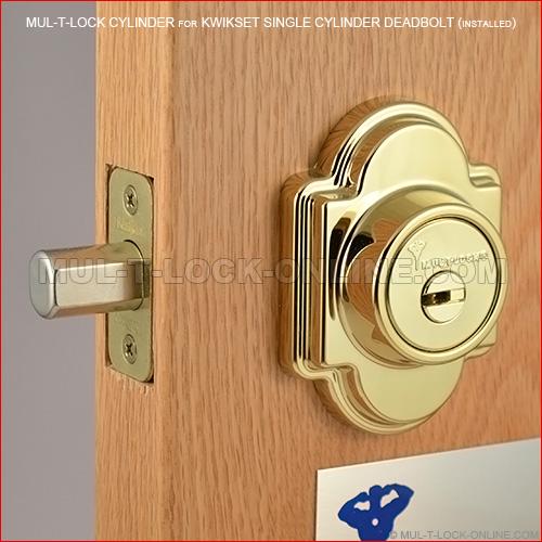 Mul T Lock Cylinder For Kwikset Titan Deadbolt Online Store