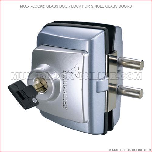 Simple Elegant MUL T LOCK High Security Glass Door Lock for Single Glass Doors Style - Awesome high security door locks Minimalist