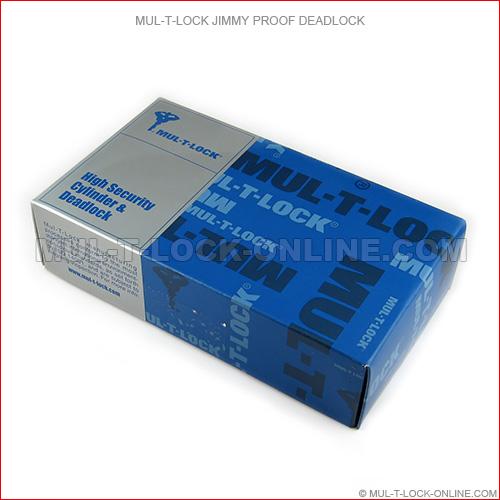 Mul T Lock Single Cylinder Jimmyproof Deadlock Online Store