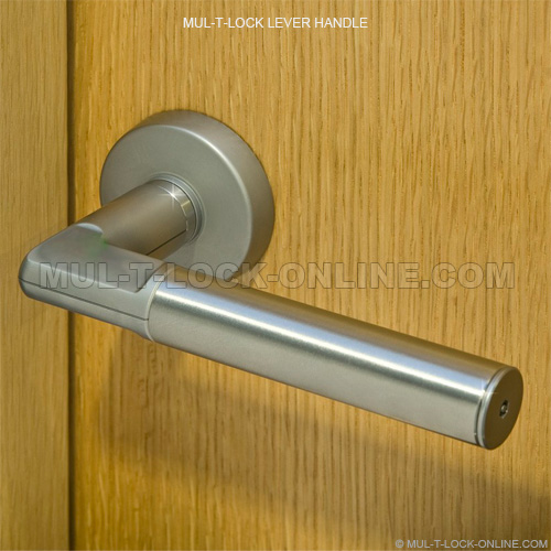 Lever Handle Lock : Mul t lock online lever handle