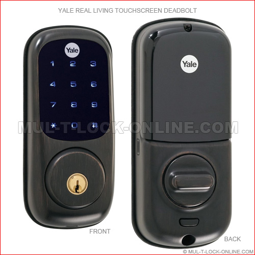 Mul T Lock Online 187 Yale Real Living Touchscreen Deadbolt
