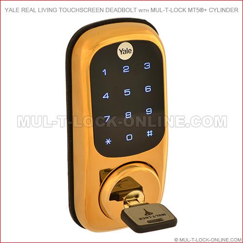 Mul T Lock Online 187 Yale Real Living Touchscreen Deadbolt