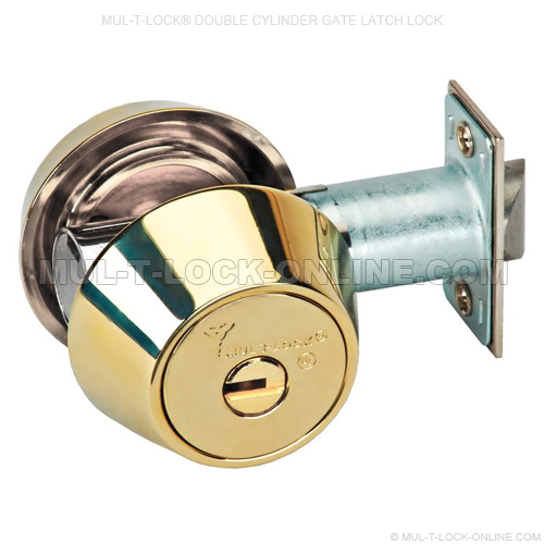 Mul T Lock Online 187 Mul T Lock Double Cylinder Gate Latch Lock