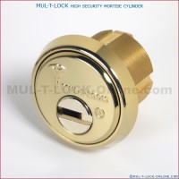 MUL-T-LOCK High Security Mortise Cylinder