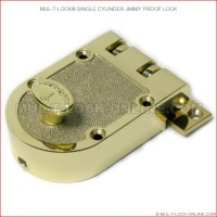 Body for MUL-T-LOCK High Security Single Cylinder Jimmy Proof Deadlock