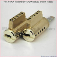 MUL-T-LOCK High Security Cylinders for SCHLAGE Double Cylinder Deadbolt