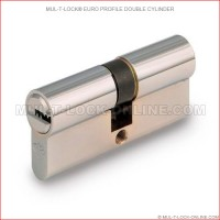 MUL-T-LOCK High Security Euro Profile Double Cylinder