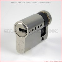 MUL-T-LOCK High Security Euro Profile Single Cylinder Half