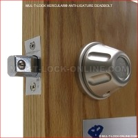 MUL-T-LOCK High Security Hercular Anti-Ligature Deadbolt
