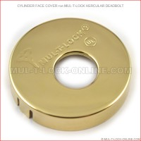 Cylinder Face Cover for MUL-T-LOCK High Security Hercular Deadbolt