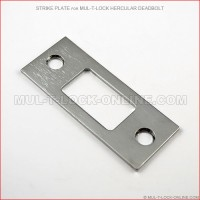 Strike Plate for MUL-T-LOCK High Security Hercular Deadbolt