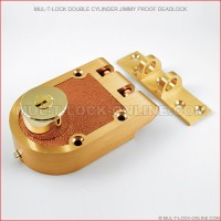 MUL-T-LOCK High Security Double Cylinder Jimmy Proof Deadlock