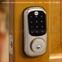 YALE Real Living Touchscreen Deadbolt with MUL-T-LOCK Interactive+ Cylinder