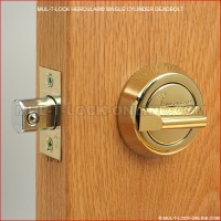 MUL-T-LOCK High Security Hercular Single Cylinder Deadbolt