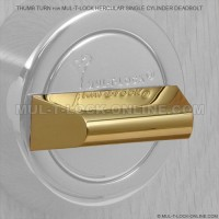 Thumb Turn for MUL-T-LOCK Hercular Single Cylinder Deadbolt