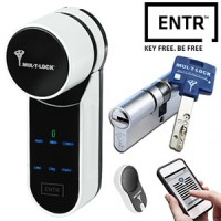 MUL-T-LOCK ENTR Smart Lock Solution with Interactive+ European Cylinder