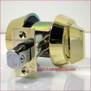 MUL-T-LOCK High Security Hercular® Single Cylinder Deadbolt