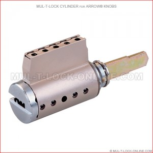 MUL-T-LOCK High Security Cylinder for ARROW Knobs