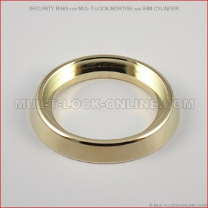 Security Ring for MUL-T-LOCK High Security Mortise & Rim Cylinder
