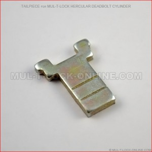 Tailpiece for MUL-T-LOCK High Security Hercular Deadbolt Cylinder