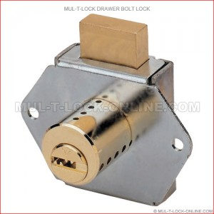 MUL-T-LOCK High Security Drawer Bolt Lock