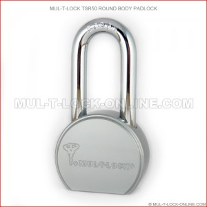 MUL-T-LOCK High Security TSR50 Round Body Padlock