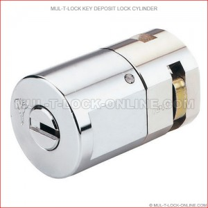 MUL-T-LOCK High Security Key Deposit Lock Cylinder