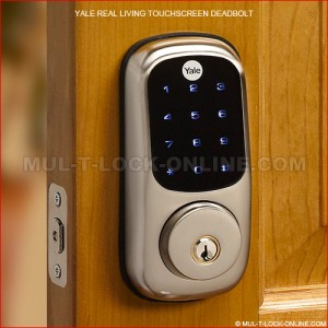YALE Real Living Touchscreen Deadbolt