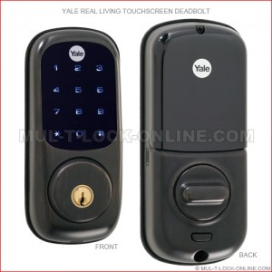 YALE Real Living Deadbolt (oil rubbed bronze finish)