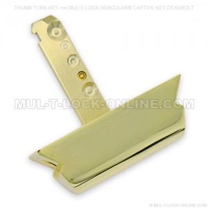 Thumb Turn for MUL-T-LOCK Hercular Captive Key Deadbolt