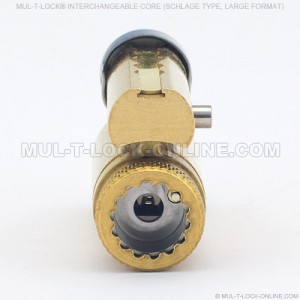 MUL-T-LOCK MT5+ SCHLAGE Type Large Format Interchangeable Core