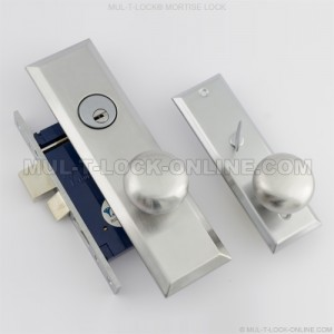 MUL-T-LOCK High Security Mortise Lock