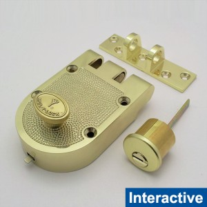 MUL-T-LOCK High Security Single Cylinder Jimmy Proof Deadlock